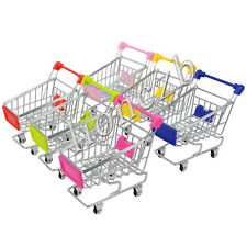 3 Size 6 Color Mini Supermarket Handcart Shopping Utility Cart Phone Holder