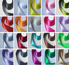 "Special offer Free Shipping 3/8 ""10 mm 50 yards craft Satin Ribbon many colors"