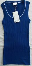 Nike Golf Global Sweater Vest Blue White Wool/Polyester 416587-437 $80 Womens Md