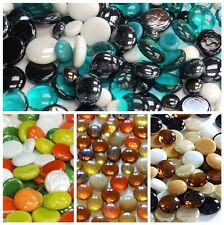Decorative Glass Pebbles / Stones / Mosaic Tiles ~ Various Colours & Quantities