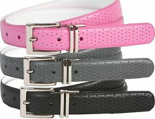 Nike Golf Tour Performance Womens Perforated Reversible Leather Belt 4 Colors