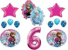 Disney Frozen 6th Birthday Party Balloons ~ Decoration Favor Supplies
