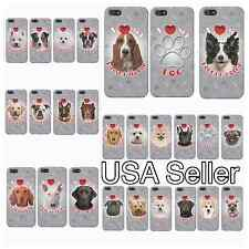 I Love My Dog Breed Specific iPhone 5/5S Case