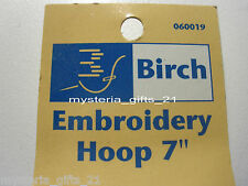 """EMBROIDERY HOOP 7"""" PLASTIC WITH SCREW*PICK 1 COLOR"""