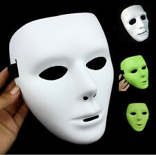 Hot Sale White/Black/Fluorescent Color JabbaWockeeZ Mask With White Gloves