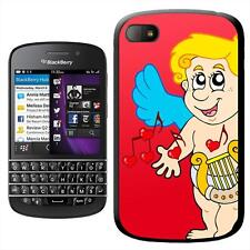 Cupid Playing Harp Making Love Music Hard Case For Blackberry Q10