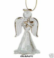 Angel Made of Glass to hang Christmas decoration new