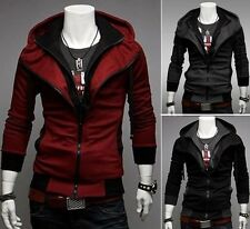 New Fashion Men's Top Designed Sexy Slim Fit Hoodies Jackets Coats