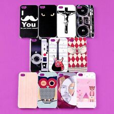 Wholesale Lot Back Skin Case Hard Cover Shell Protector For Apple I-phone 4 4S