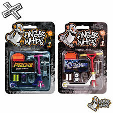 FINGER WHIPS SERIES 1 DIRT & PRO MICRO METAL STUNT SCOOTER DIE-CAST BRAND NEW