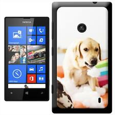 Golden Retriever Playing With Pillows Hard Case For Nokia Lumia 520