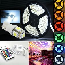 5M RGB 5050 3258 Strip Lights 5M Waterproof 5-300 LED SMD + 44/ 24 IR controller