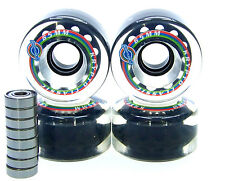 Kryptonics Classic 65mm / 78A Longboard wheels bearing ABEC 5 7 9 CLEAR