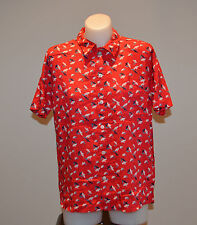Element Ladies Shirt - RED -  Size 10- NEW