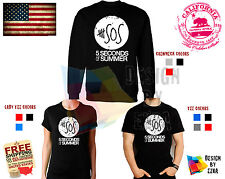5 Seconds of Summer T shirt 5sos One Direction New Sweatshirt