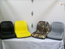 HIGH BACK YELLOW,BLACK,GRAY,CAMO SEATS LAWN MOWERS, GATORS, COMPACT TRACTORS #BO