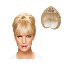 Jessica Simpson Ken Paves Clip in Bangs Hair Extensions HairDo HairUWear NEW