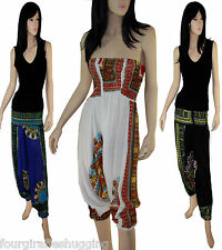 Festival Alibaba Harem Yoga Trousers Onesie Cotton Beach Cover Up