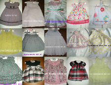 * NEW GIRLS 2PC FIRST IMPRESSIONS SUMMER DRESS 3M 6M 9M 12M 18M 24M