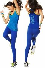 ZUMBA FITNESS ~2 PIECE SET! ~ Racerback Tank Top and Leggings ~Yoga Crossfit S M