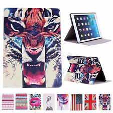 Sexy&Cool Faux Leather Fold Skins Cases Covers Stand for Apple iPad Air 5th Gen