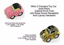 Whim Z Fantasia Toy Car Solid Resin Cabinet Knob Pulls from Laurey Hardware