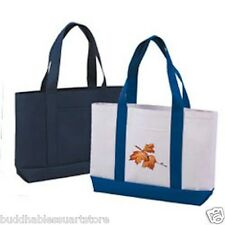 1 Dozen Blank Poly Eco Reusable Grocery Shopping Tote Totes Bag Bags Wholesale