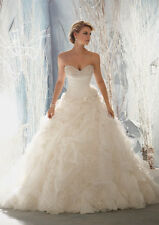 Sweetheart Wedding Dresses Strapless Bridal Gown/Dress Size 6 8 10 12 14 16 18+