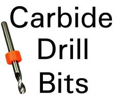 Carbide Drill Bits - Choose Your Size - CNC PCB Hobby Model Jewelry -