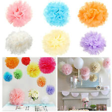 "20/25CM DIY Tissue Paper Pom Poms Flower Ball For Party Wedding Decoration 8""10"""
