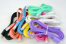 1.5m (5ft) 1080P 3D HDMI 1.4 Male to Male Flat Video/Audio HD TV  Monitor Cables