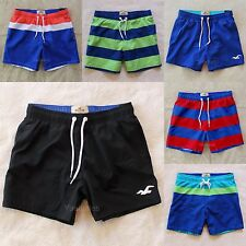 Hollister Mens Swim Board Shorts Bathing Suit Trunks Guard Chill Fit Abercrombie