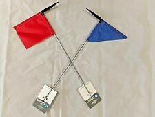 SAILING DINGHY BURGEE BIRGEE WIND DIRECTION INDICATOR FLAG PENNANT
