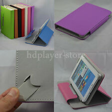 "Colorful Flip Leather Case+Stylus+Film For 9"" Hipstreet Electra 2/FLARE 2 Tablet"