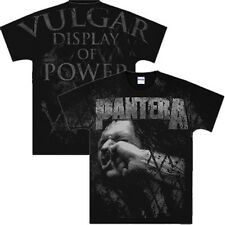 PANTERA Vulgar Display Of Power All Over T-Shirt New Authentic Rock Metal Tee