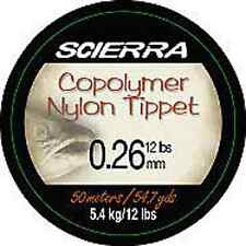 Scierra Copolymer Tactical Nylon Tippet Fly Leader Line