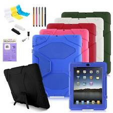 Otter Proof Water/Dirt/Shock Stand Case Cover For Apple iPad 2/3/4 air/ Mini BOX