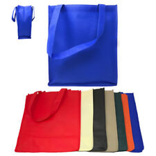 3 PACK LARGE Recycled Reusable Eco Friendly Grocery Shopping Tote Totes Bag Bags
