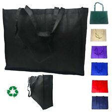 EXTRA LARGE XL Recycled Reusable Eco Friendly Grocery Shopping Tote Bag Bags 20""