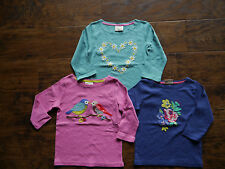 Girls Mini Boden Long Sleeved Tshirt Tops Age 3 4 5 6 7 8 9 10 11 12 Years NEW
