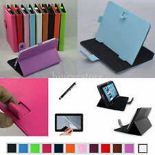 "Colorful Magic Case+Film+Stylus For 7"" Alcatel ONE TOUCH EVO7/7HD/Tab 7/Pop7/7S"