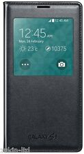 NEW FLIP S-VIEW LEATHER CASE BATTERY COVER FOR SAMSUNG GALAXY S5 V