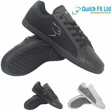 NEW MENS LACE UP CASUAL TRAINERS SPORTS GYM RUNNING WALKING LEISURE FLAT SHOES