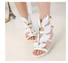 2014 Summer Women's Cool Wings Flat Shoes Sandals Flame Sandals J 254
