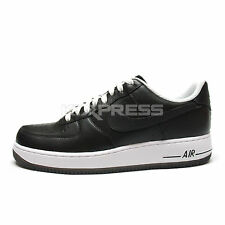 Nike Air Force 1 '07 [315122-902] NSW Casual Black/White-Amber Sole