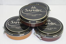SAPHIR MEDAILLE D'OR 1925 PATE DE LUXE 100ML WAX SHOE POLISH 12 COLOURS