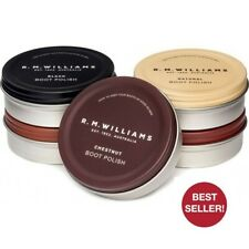 2 x RM Williams Stockman's Boot Polish - Chestnut, Natural and Black - RRP 27.90