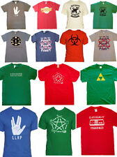 Big Bang Theory T Shirts-Inspired by Sheldon-Bazinga-S-XXL-NEW-FREE SHIPPING