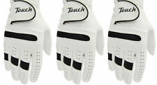 3 x Touch All Weather Men Right Hand Golf Gloves FOR LEFT HANDED GOLFERS