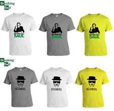 BREAKING BAD T-SHIRT TEE BETTER CALL SAUL / HEISENBERG FREE WORLDWIDE SHIPPING